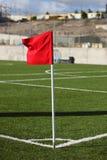 красный цвет флага Стоковая Фотография