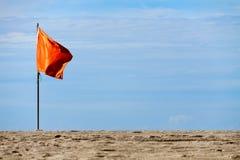красный цвет флага Стоковое Изображение RF