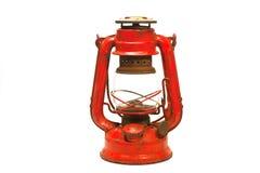 красный цвет фонарика Стоковые Фото