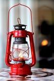 красный цвет фонарика стоковое фото