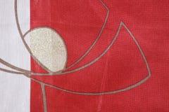 красный цвет фона Стоковое Изображение