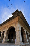 красный цвет форта delhi старый Стоковые Фотографии RF
