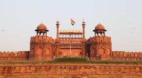 красный цвет форта delhi Стоковая Фотография RF