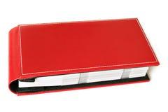 красный цвет фото альбома Стоковые Изображения