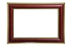красный цвет фото золота рамки anf Стоковые Изображения RF