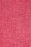 красный цвет холстины Стоковая Фотография