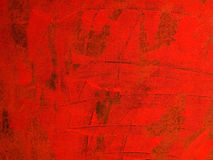 красный цвет холстины Стоковые Фото