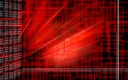 красный цвет цвета предпосылки цифровой Стоковые Изображения