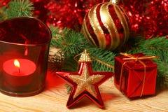 красный цвет цвета рождества Стоковое Изображение RF