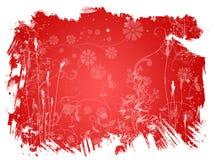 красный цвет цветка предпосылки Стоковые Изображения