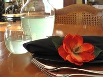 красный цвет цветка Стоковое Фото