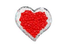 красный цвет циннамона конфеты Стоковое Фото