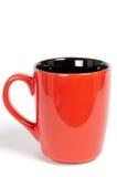 красный цвет чашки Стоковая Фотография RF