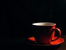 красный цвет чашки Стоковые Фото