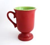 красный цвет чашки Стоковое Изображение