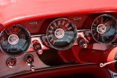 красный цвет черточки Стоковое фото RF