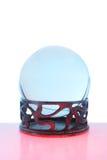 красный цвет шарика голубой кристаллический Стоковые Фотографии RF