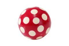 красный цвет шарика Стоковая Фотография