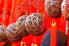 красный цвет шариков удачный Стоковые Фотографии RF