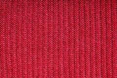 Красный цвет шерстяной ткани Стоковые Фотографии RF
