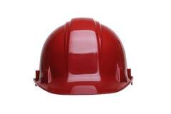красный цвет шлема Стоковые Фото