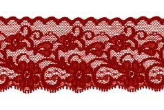 красный цвет шнурка полосы коричневый темный Стоковые Изображения
