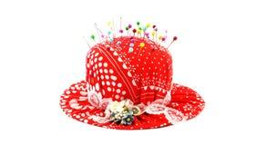 красный цвет штыря валика Стоковые Фото
