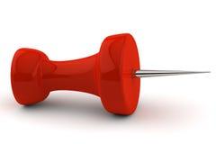 красный цвет штыря лож бумажный Стоковое Изображение RF