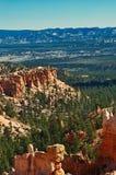 красный цвет Юта каньона Стоковые Фото