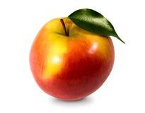 красный цвет яблока большой Стоковое Фото
