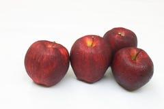 красный цвет яблока вкусный стоковое фото