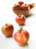 красный цвет яблока Стоковая Фотография