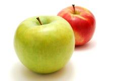 красный цвет яблок зеленый Стоковые Изображения RF