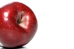 красный цвет яблока близкий вверх Стоковые Изображения