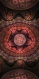 красный цвет драгоценности Стоковая Фотография