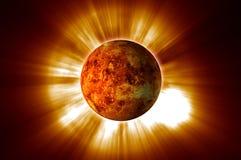 красный цвет 02 планет Стоковое фото RF