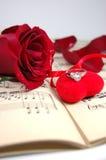 красный цвет 2 подарков Стоковое Изображение