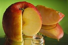 красный цвет 2 яблок Стоковое фото RF