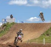 красный цвет 2012 соотечественников motocross быка профессиональный Стоковая Фотография RF