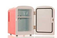 красный цвет 4 холодильников миниатюрный Стоковые Фотографии RF