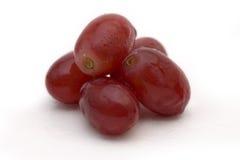 красный цвет 5 виноградин Стоковое Фото