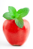 красный цвет aplle Стоковое Фото