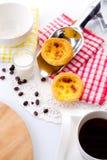 Красный цвет Bakery&Tea Стоковая Фотография
