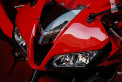 красный цвет bike Стоковые Изображения