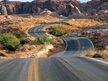 красный цвет dip пустыни Стоковое фото RF