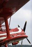 красный цвет doubledecker воздушных судн старый Стоковые Изображения RF