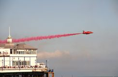 красный цвет eastbourne стрелок Стоковые Фото