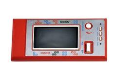 красный цвет gamepad старый стоковое фото rf