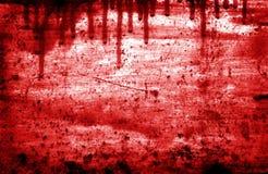 красный цвет grunge предпосылки Стоковые Фото