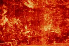 красный цвет grunge предпосылки Стоковые Фотографии RF